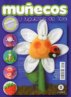 Muñecos y Juguetes de Tela Nro. 25