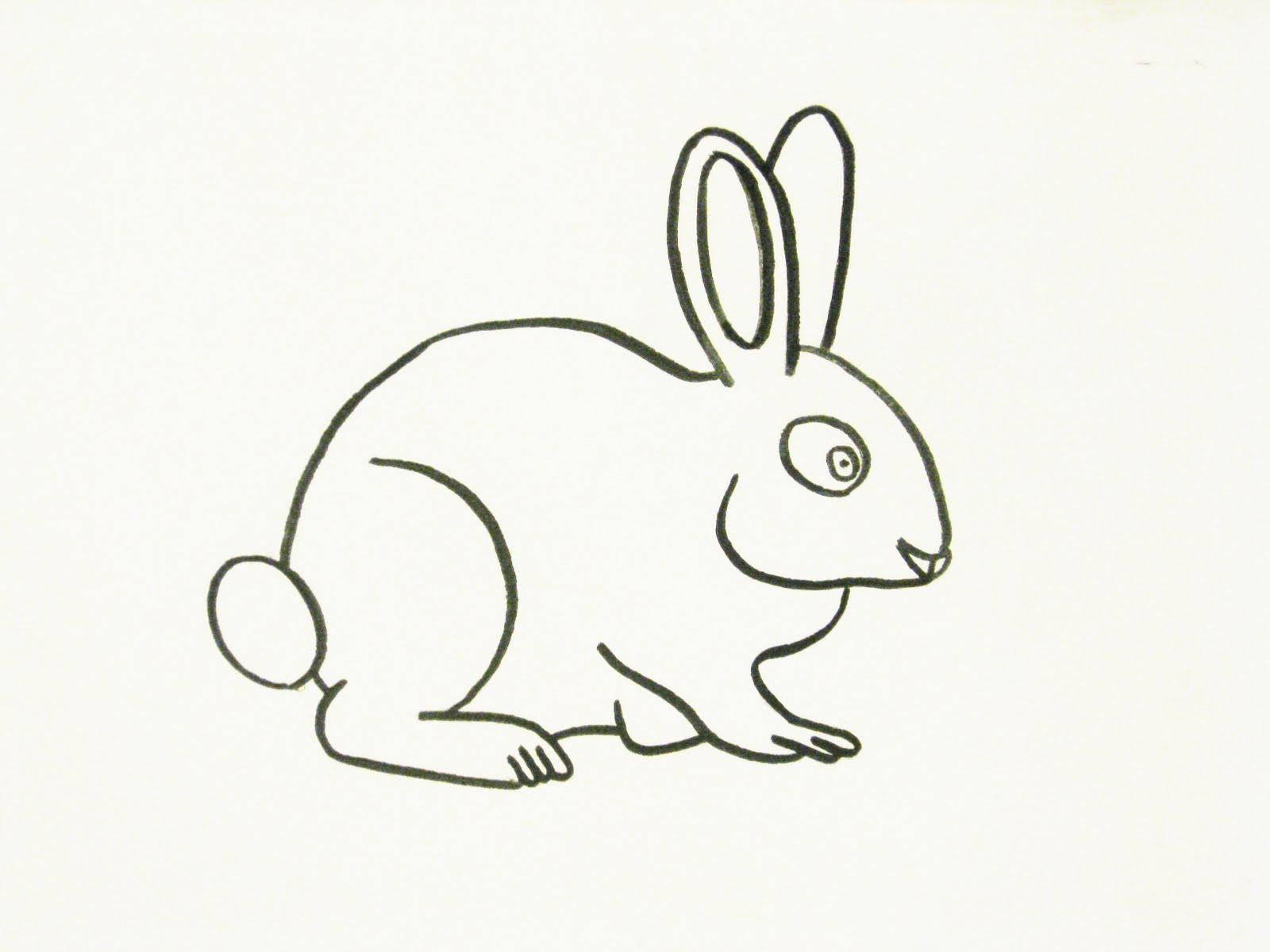 Gallery 91 Inc.: Rabbit sketch