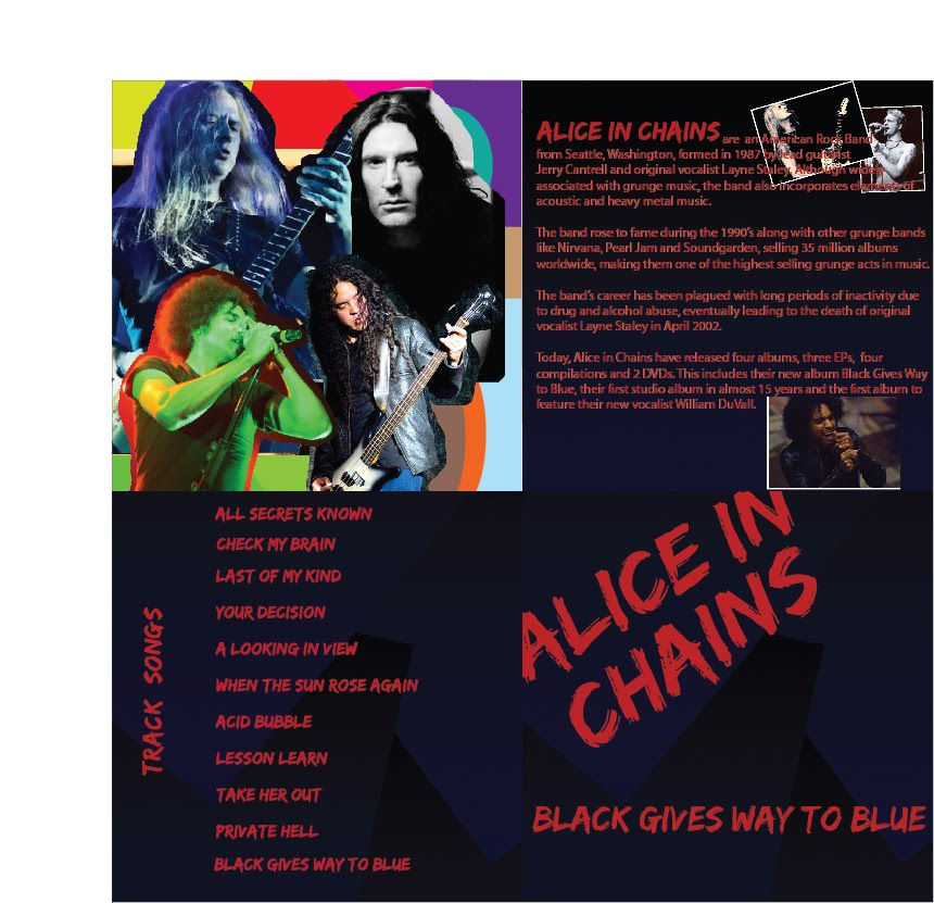 gallery 91 inc alice in chains music brochure project. Black Bedroom Furniture Sets. Home Design Ideas