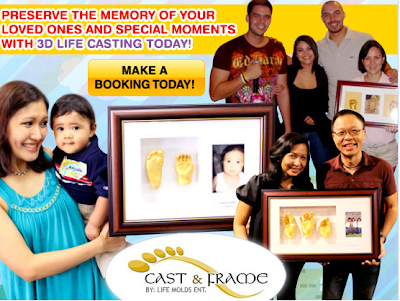 Cast and Frame offers 3D casting to preserve memories..