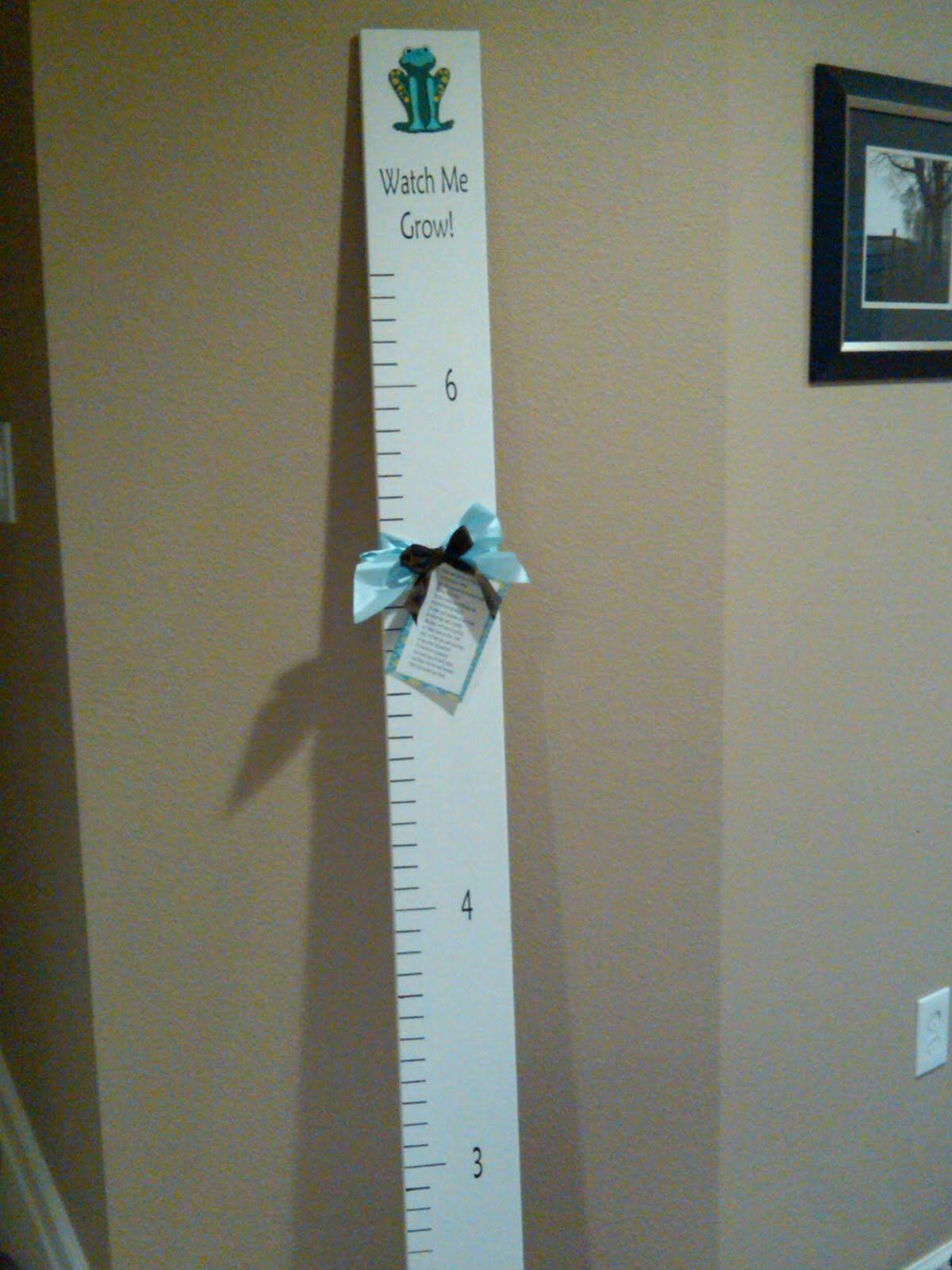 Milius Adventures Baby Shower Gift Growth Chart