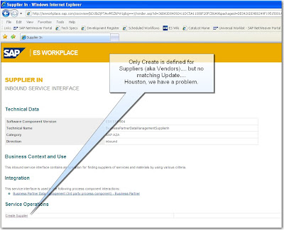 David Klein's Corner: SAP - Creating and Updating Vendor