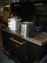 Pressure Canning on the Cookstove