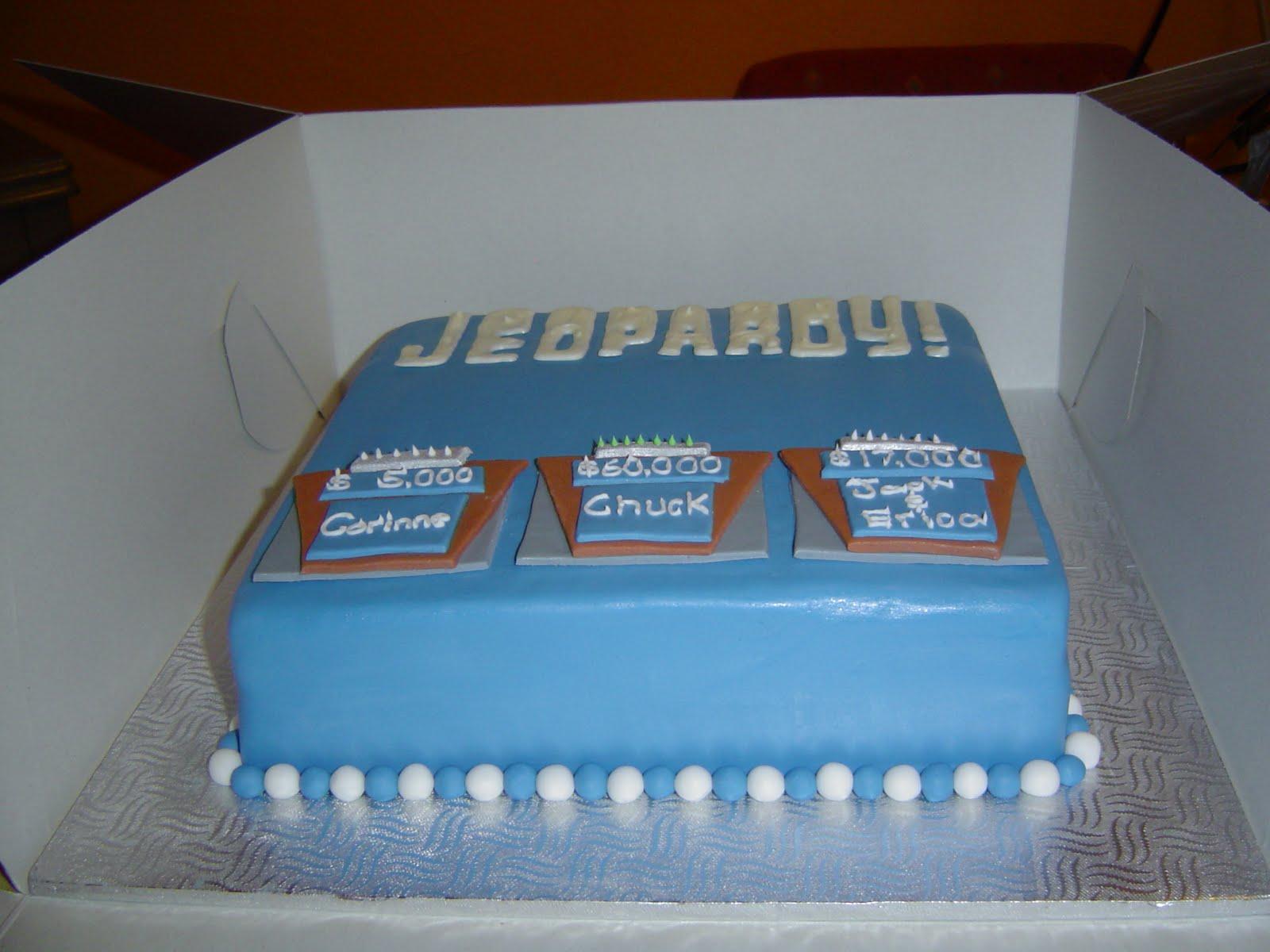 Cakes By Jess Jeopardy Cake
