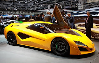 A Renowned Sportscar Designer Unveiled The Namir At 79th Geneva Motor Show Vehicle That They Claim Will Be Fastest Hybrid Car In World