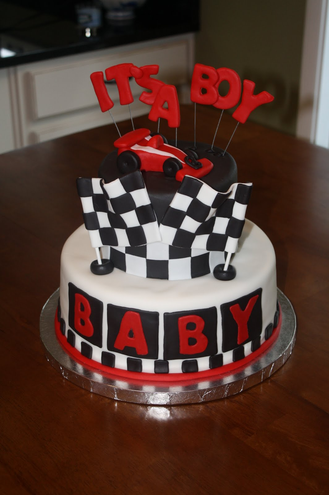 A Little Something Detailed Race Car Baby Shower