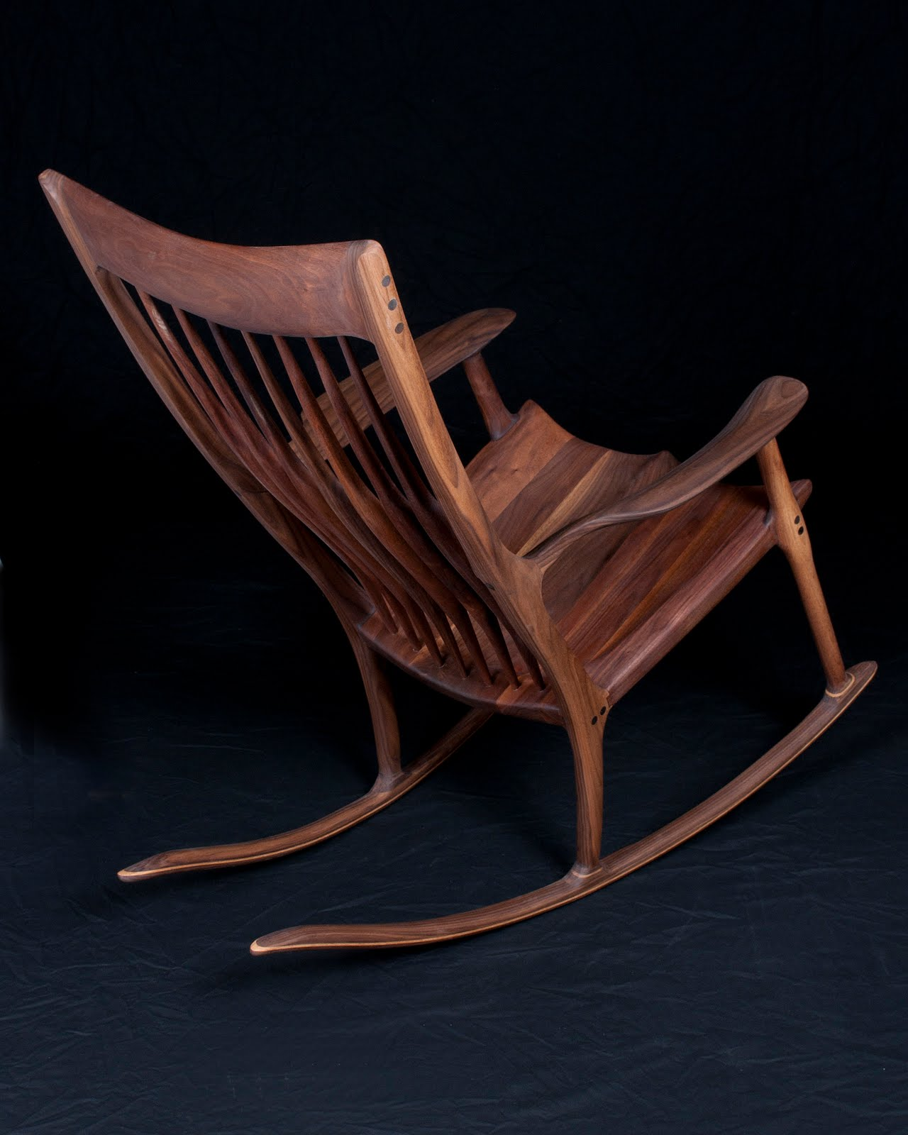 Sam Maloof Rocking Chair Plans Ikea Harry Covers Pat Beurskens Woodworking Portfolio Style