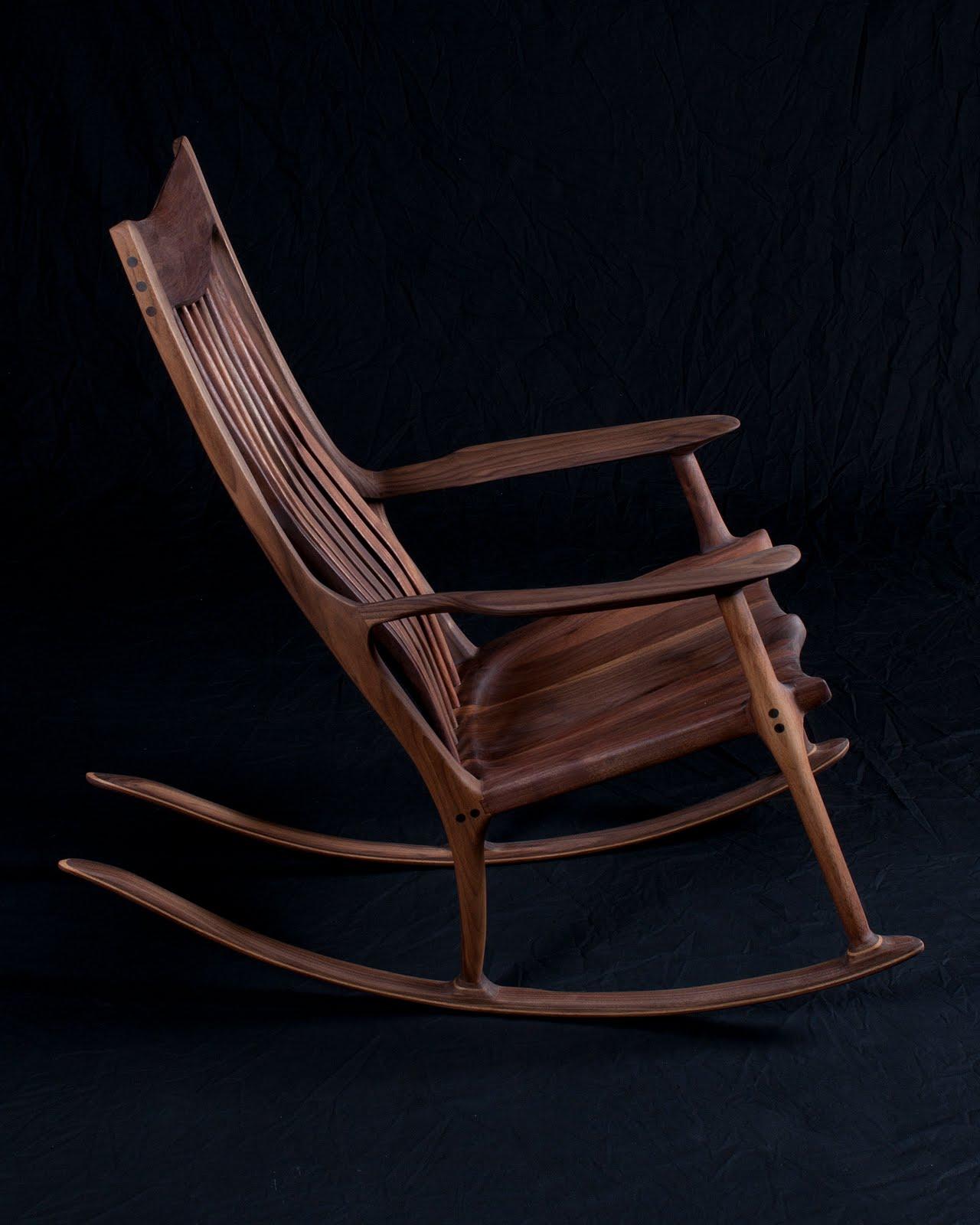 Pat Beurskens Woodworking Portfolio Sam Maloof Style