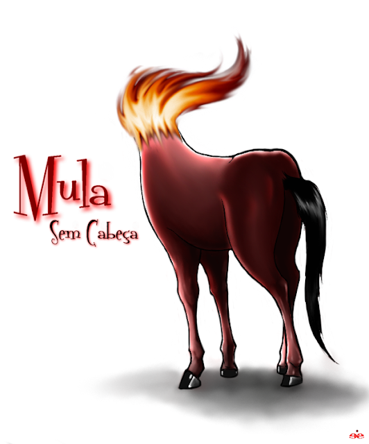 Resultado de imagem para mula sem cabeça charge