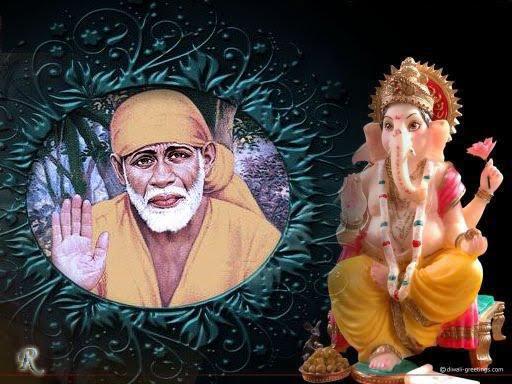 Free Hindi Quotes Wallpapers Sai Ganesha Wallpapers For Free Download Shirdi Sai Baba