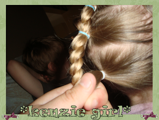 Kenzie Girl: Faux French Braid