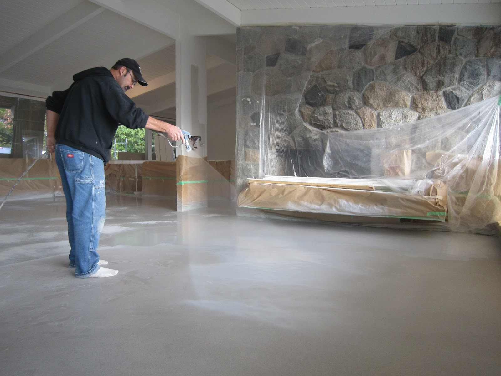 Polished Concrete Micro Topping Concrete Micro Topping