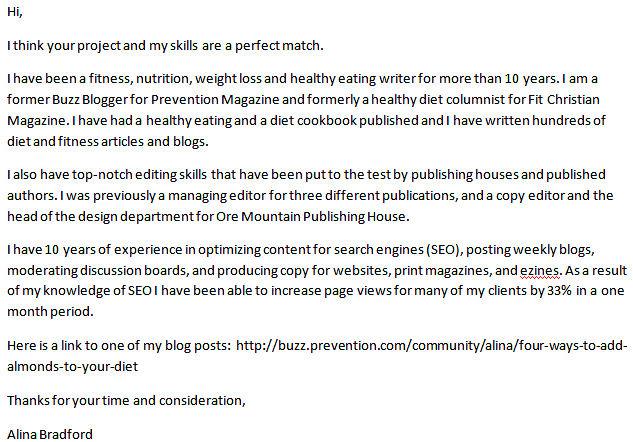 Sample Cover Letter Kitchen Porter | Example Cv English Language