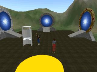 Stargate Teleport Rings Space Engineers