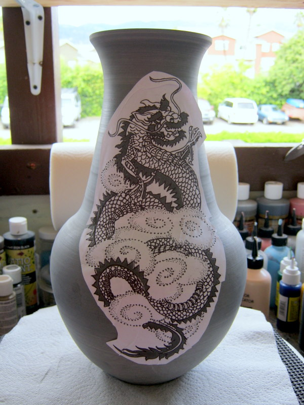 Dragon Tattoo Art Tootall S Pottery And The Cast Of Miami Ink