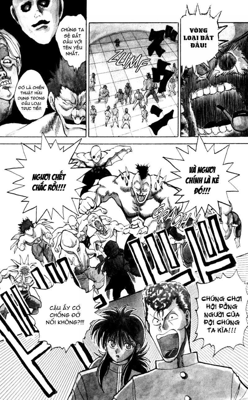 Hành trình của Uduchi chap 052: giải đấu ankoku bujutsukai trang 16