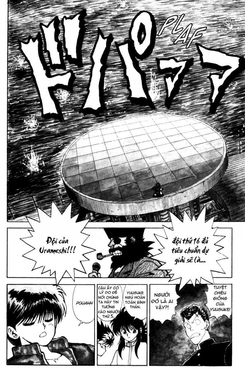 Hành trình của Uduchi chap 052: giải đấu ankoku bujutsukai trang 18