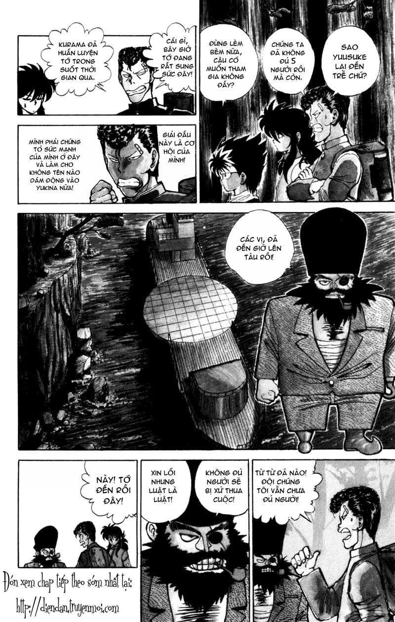 Hành trình của Uduchi chap 052: giải đấu ankoku bujutsukai trang 7