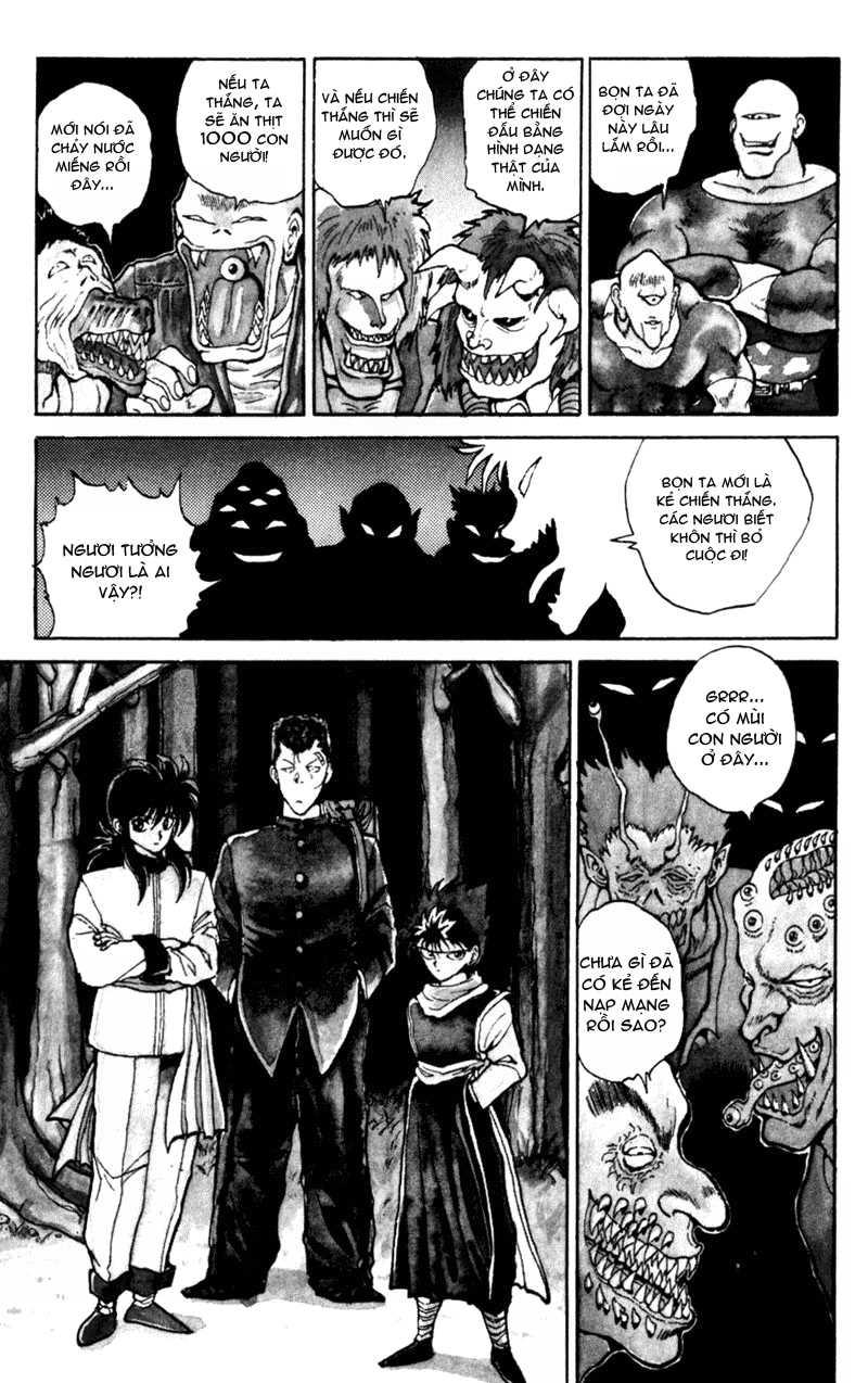 Hành trình của Uduchi chap 052: giải đấu ankoku bujutsukai trang 6