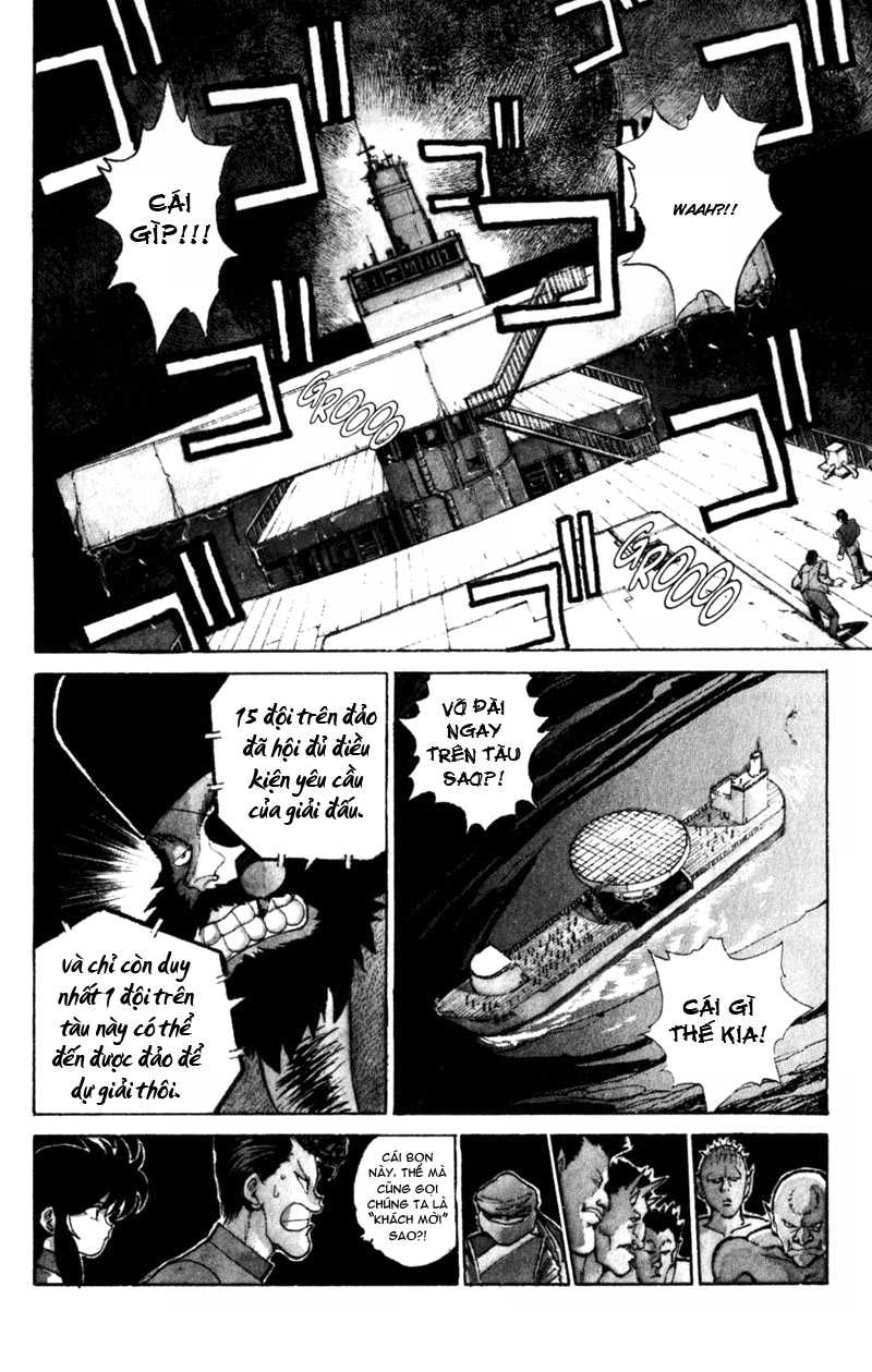 Hành trình của Uduchi chap 052: giải đấu ankoku bujutsukai trang 13