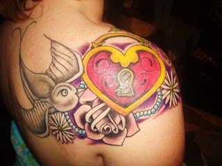 Heart Tattoos for girl