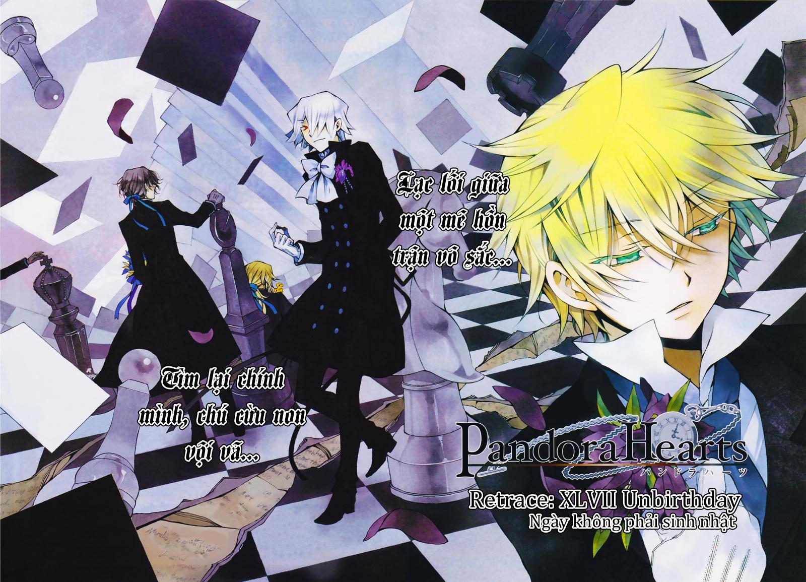 Pandora Hearts chương 047 - retrace: xlvii unbirthday trang 2