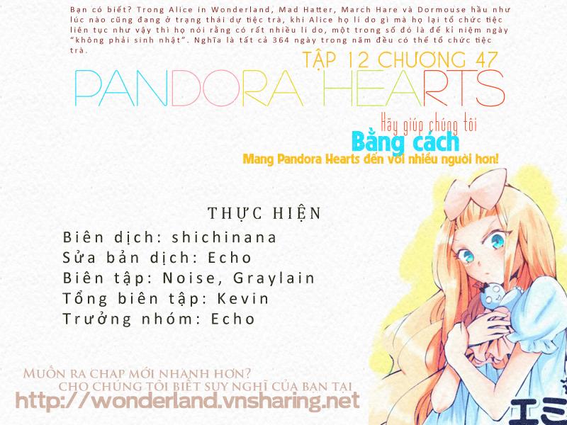 Pandora Hearts chương 047 - retrace: xlvii unbirthday trang 41