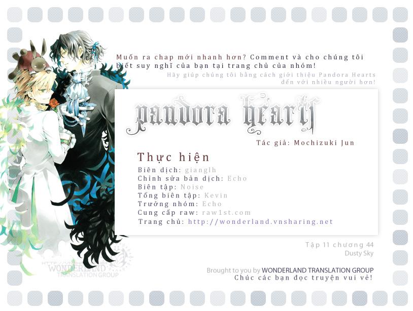 Pandora Hearts chương 044 - retrace: xliv dusty sky trang 1