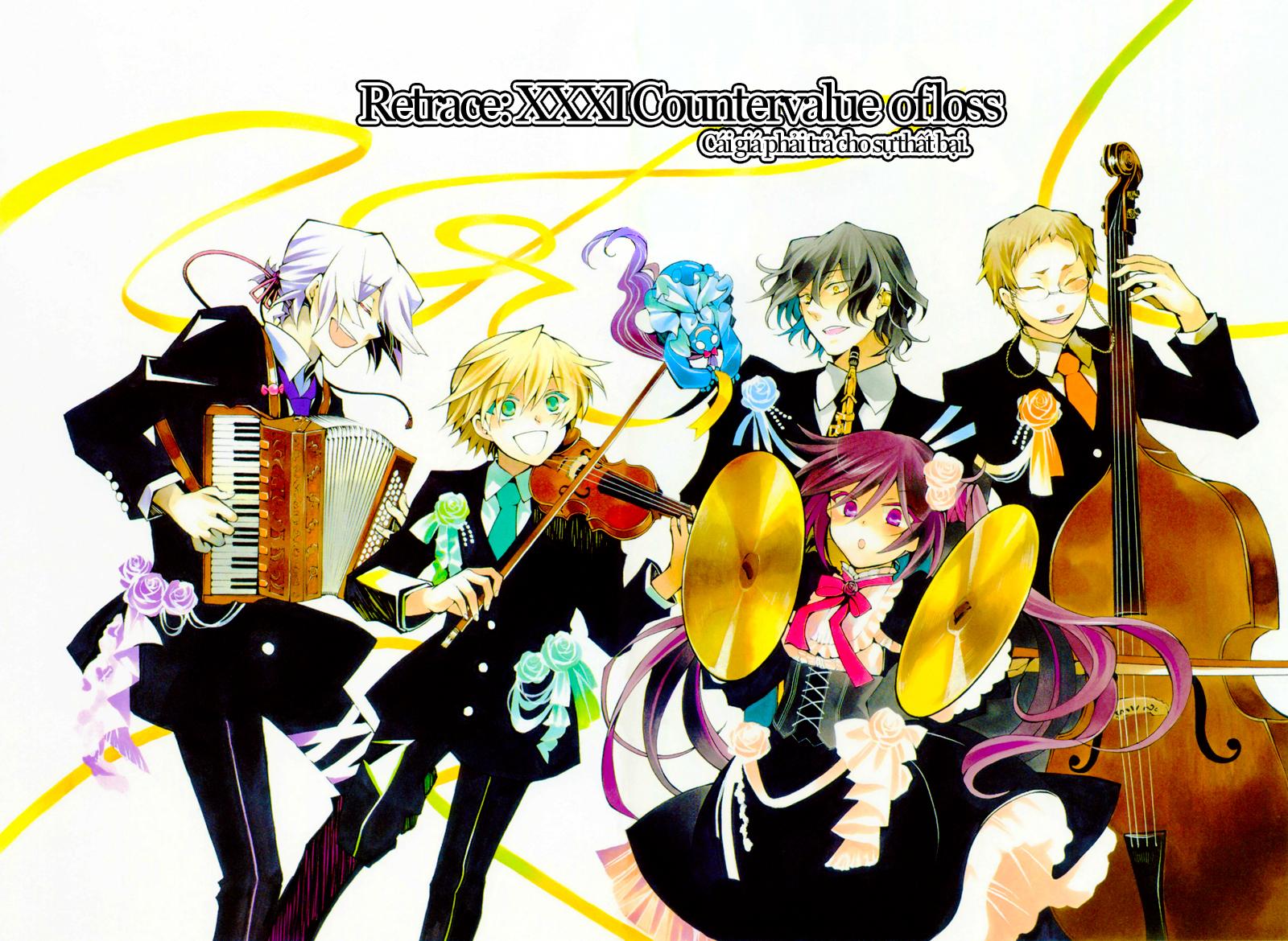 Pandora Hearts chương 031 - retrace: xxxi countervalue of loss trang 2