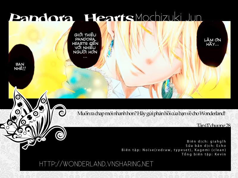Pandora Hearts chương 032 - retrace: xxxii snow dome trang 53
