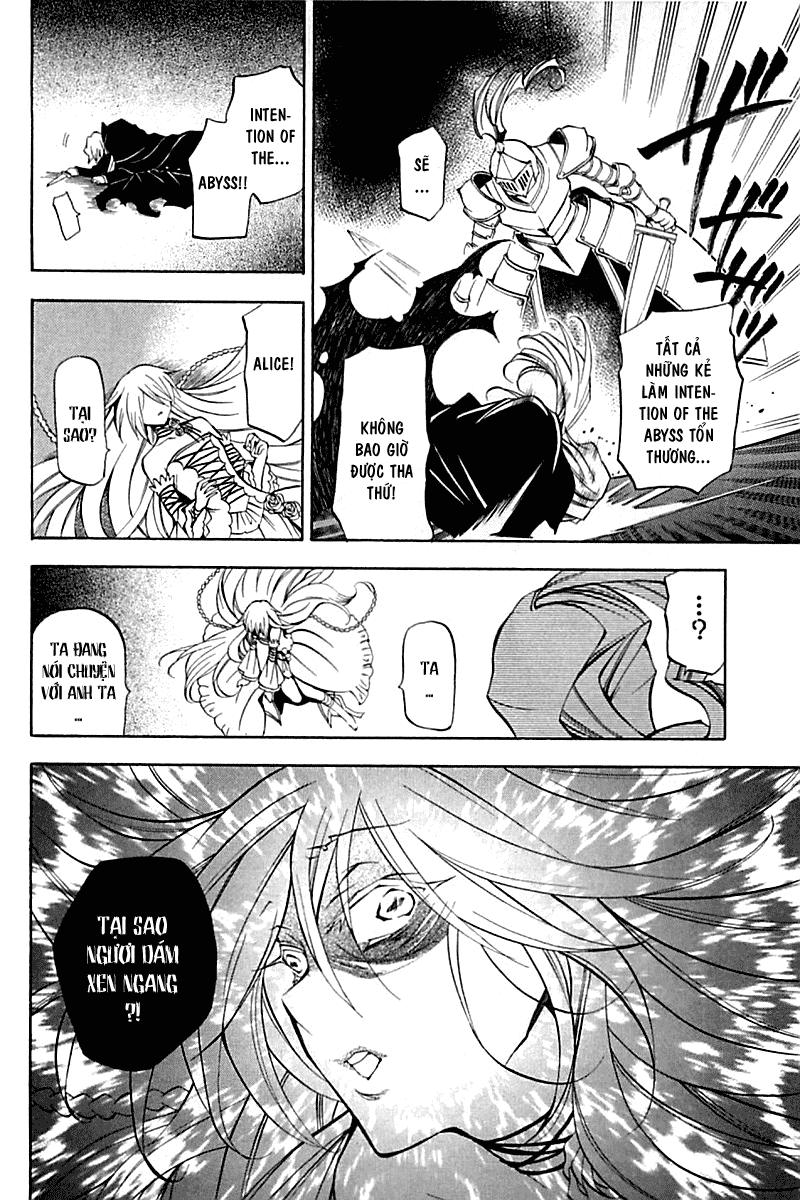 Pandora Hearts chương 030 - retrace: xxx snow white chaos trang 29
