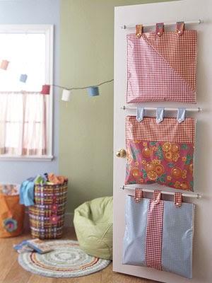 Organizadores de tela para el hogar lodijoella - Manualidades de tela para el hogar ...