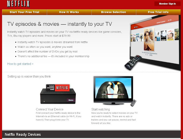 NETFLIX READY DEVICES
