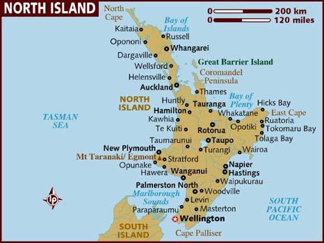 Neuseeland Nordinsel Karte.Junglejulia Nordinsel Neuseeland
