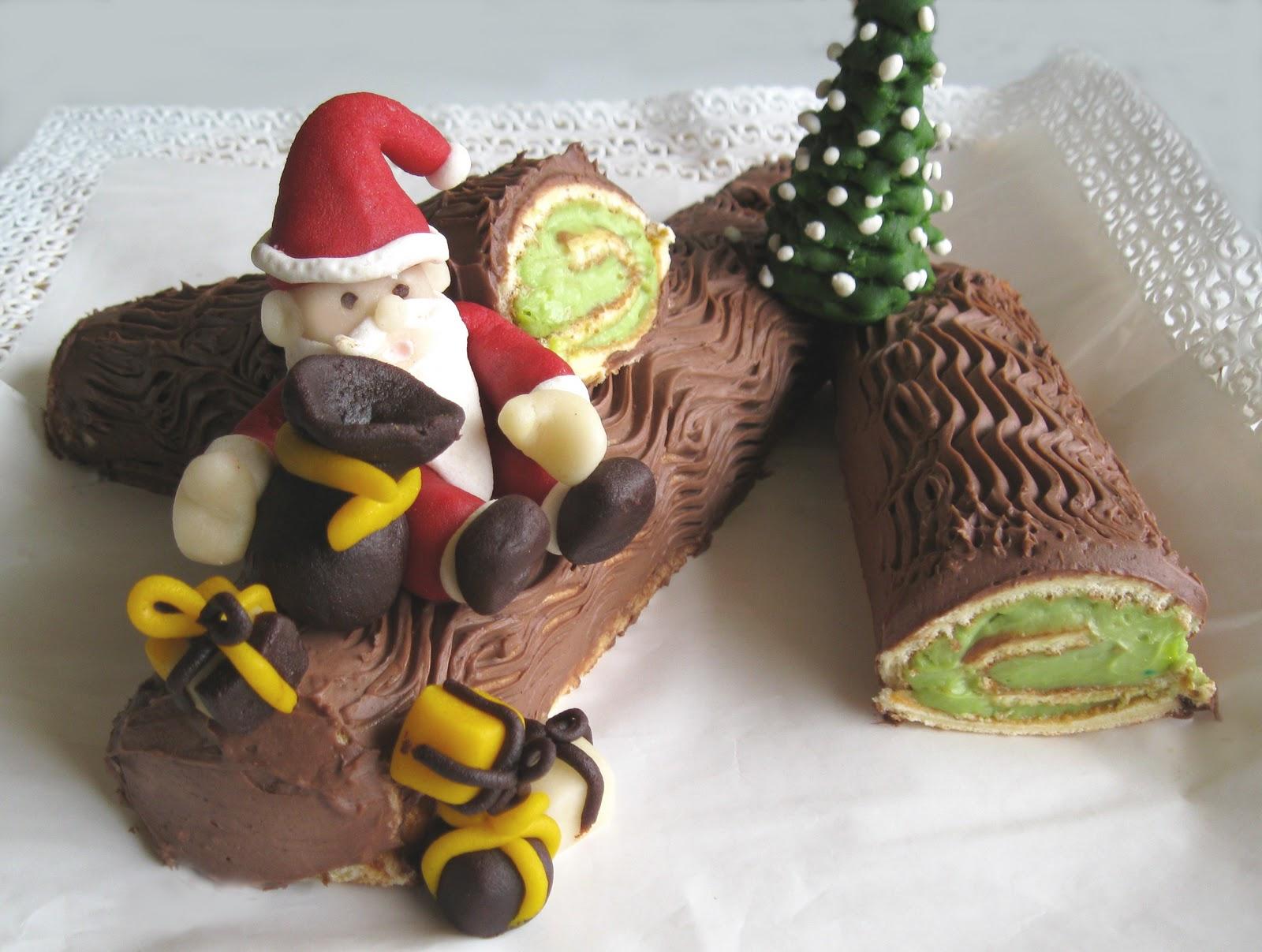 Tronchetto Di Natale Luca Montersino.Tronchetto Di Natale 2011 La Cassata Celiaca