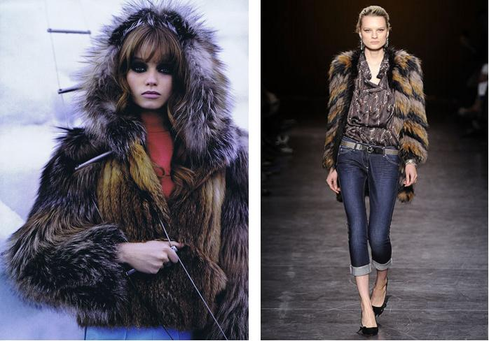 0347925f758 Chloé Fall 2010 (picture from Harper's Bazaar, Oct. 2010) & Isabel Marant  Fall 2010