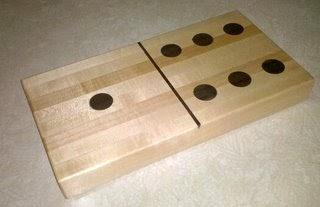 Woosterwoodworker Domino Cutting Board