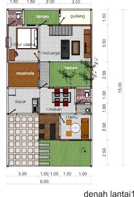 65 Gambar Desain Rumah Modern Islami Paling Keren Download Gratis