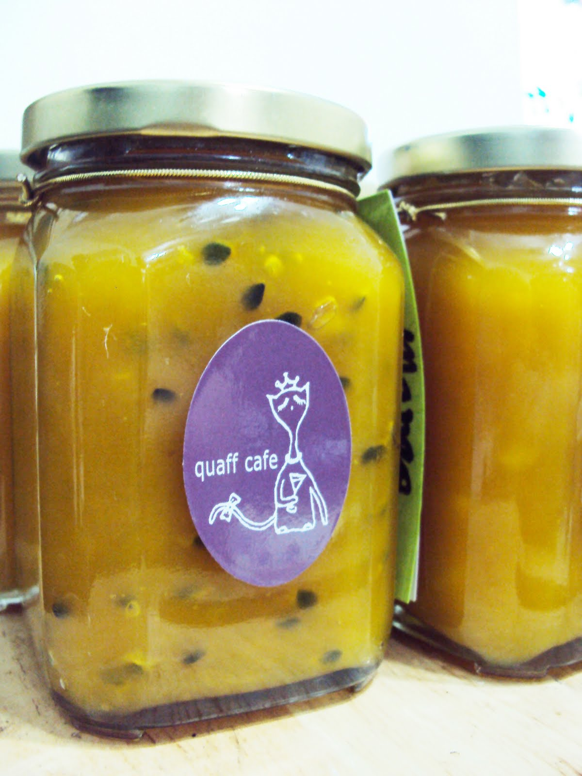 quaff cafe 樂融融餐室: 芒果 & 芒果百香果醬
