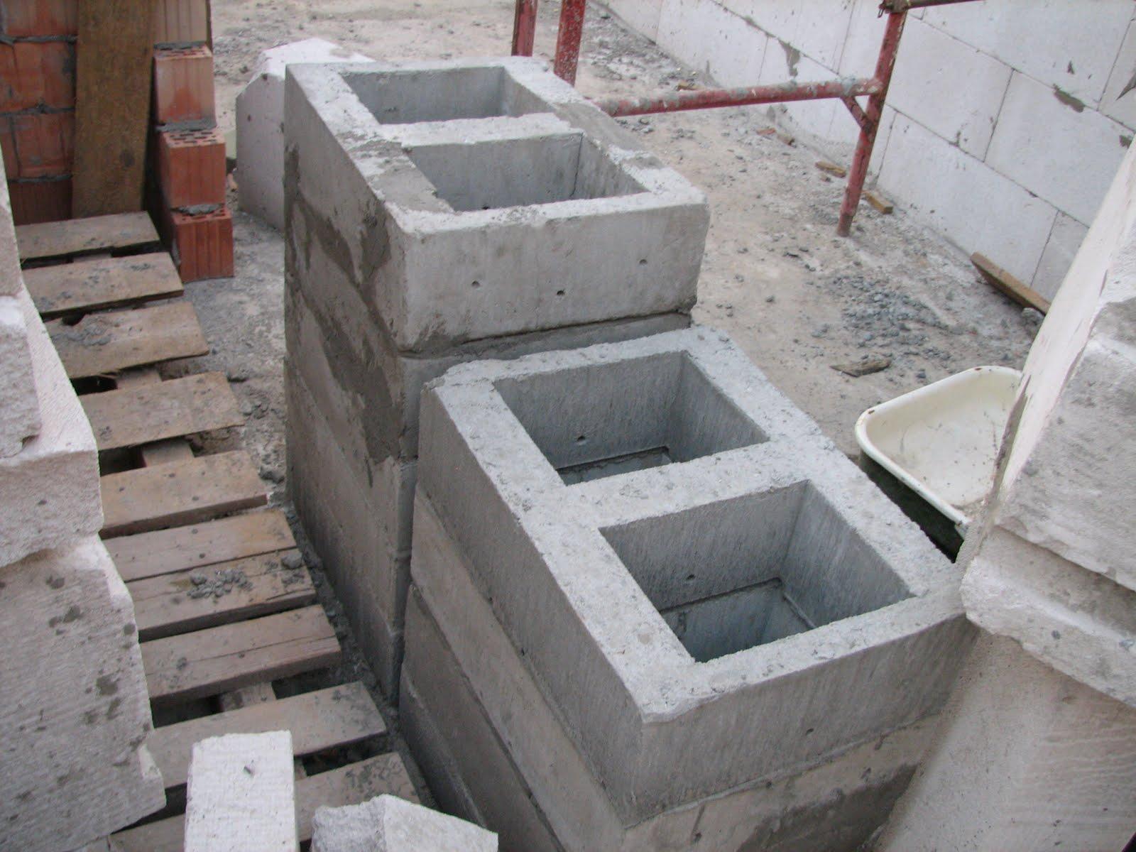 Вентиляционные каналы в бетонных блоках