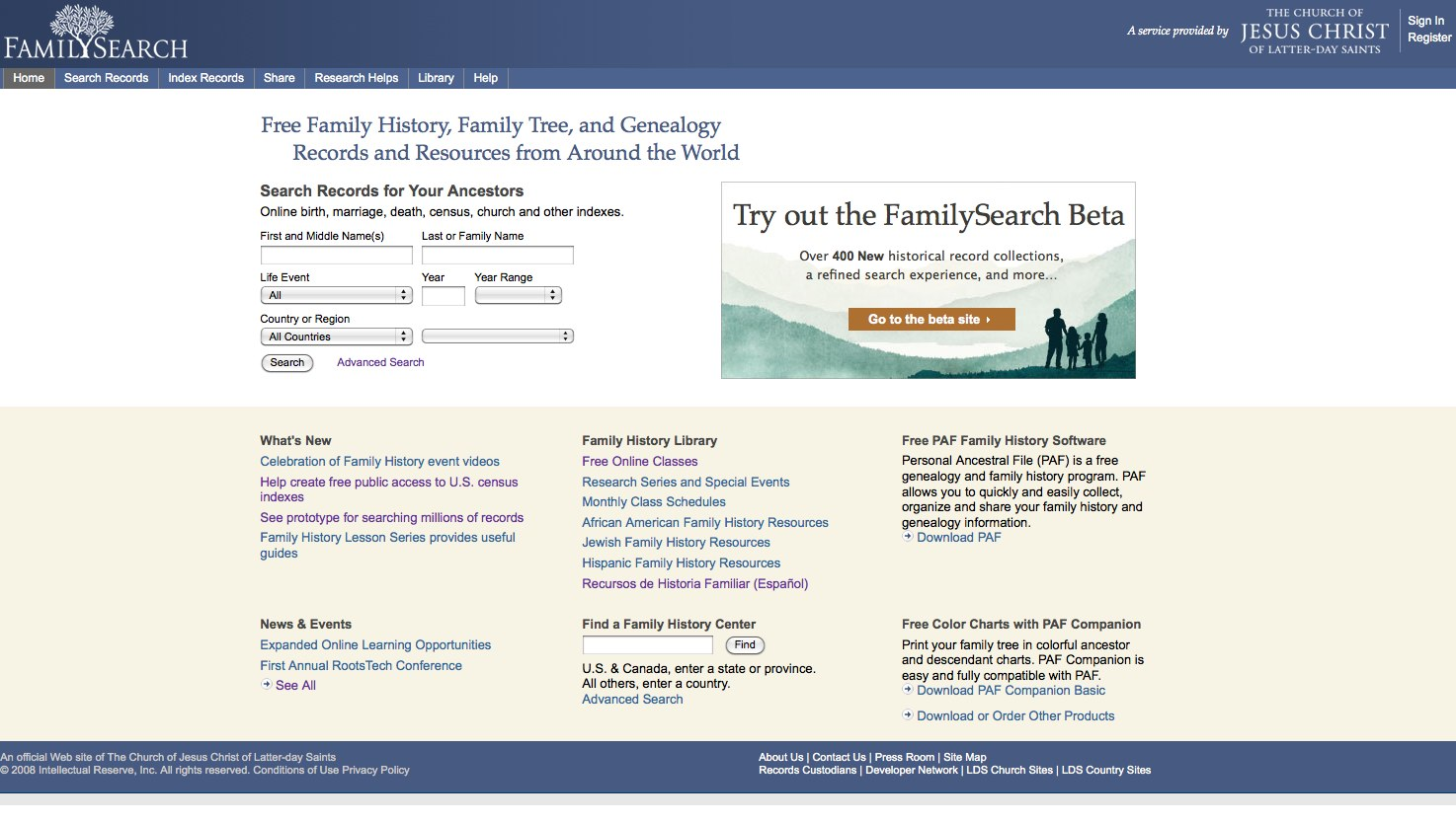 Family History Resources Genealogy Resources Online