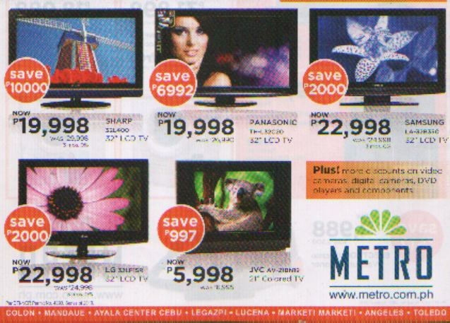 Lcd Led Tvs Philippines With Price Comparisons P19999 32 Inch