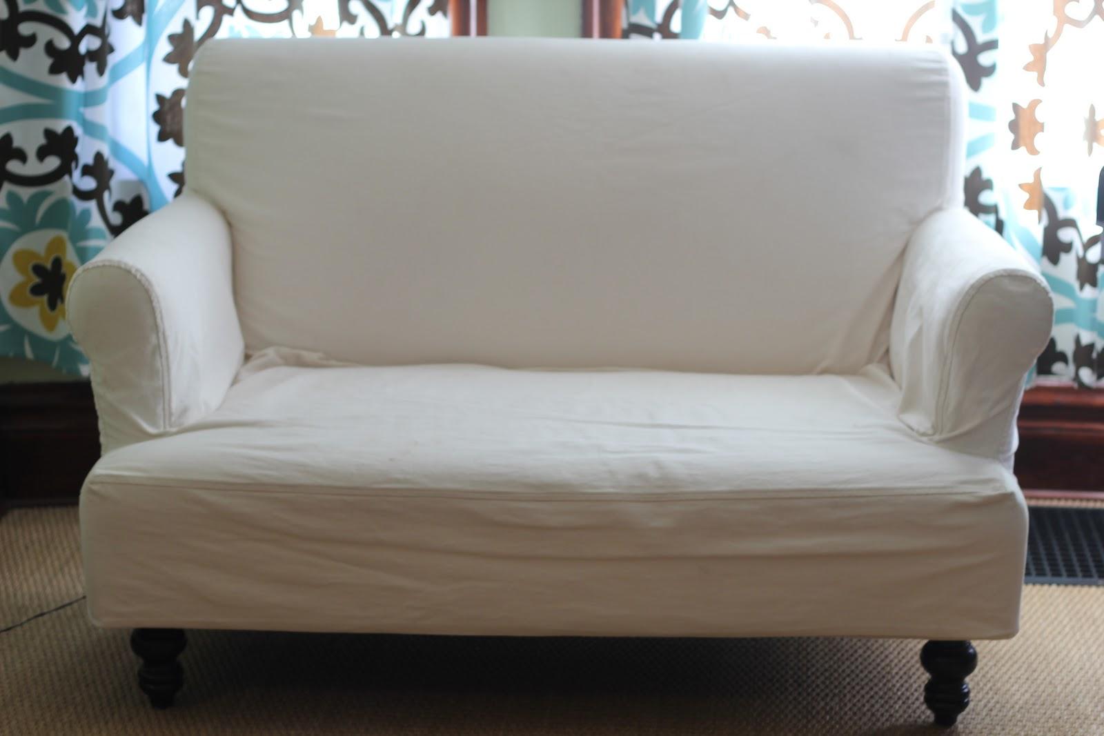 Rachel Ashwell Sofa Slipcovers Www Energywarden Net ~ White Denim Slipcovers Sofa