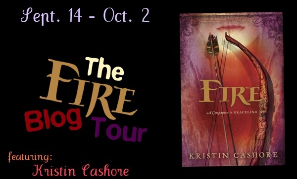 Kristin Cashore Blog Tour: Getting to Know the Characters of Fire & CONTEST