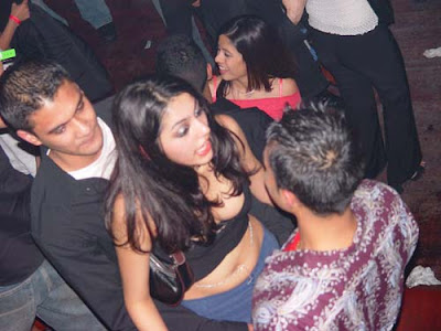 Indian night club girls