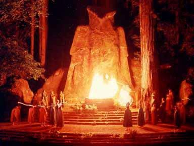 bohemian grove illuminati meet this week for satanic rituals book
