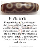 Five directional God of Wealth, fulfill success and wishes