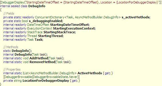 DOT NET TRICKS: Debugging with Async