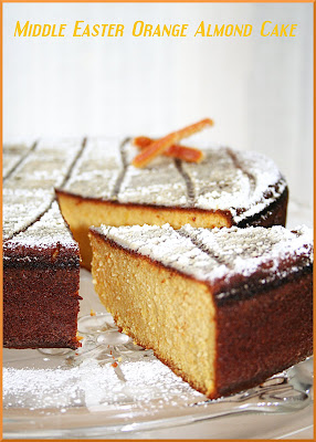Cake Orange Amande A La Distasio
