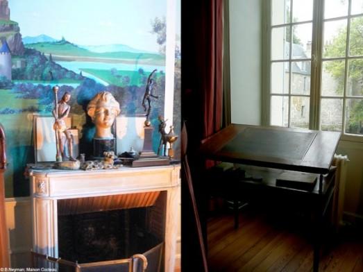 * Wunderkammer *: La Casa De Jean Cocteau En Milly La